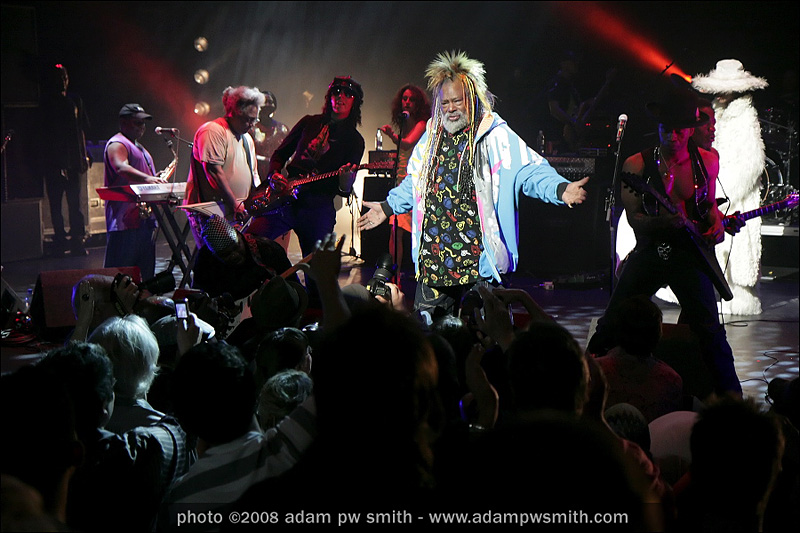 George Clinton and Parliament Funkadelic- Meltdown Festival, London 2008   Photo ©2008 Adam PW Smith